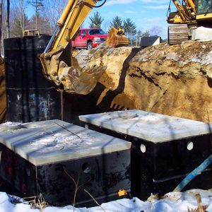 Septic Tanks Underground - Residential homes and businesses have #septic_tanks underneath the property. In order to repair any problems, you are going to need to hire a professional service to get in there and remedy the situation.
