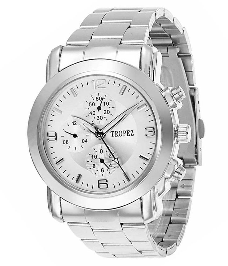 Loved it: Tropez Men's Round Dial Silver Chain Exclusive Watch, http://www.snapdeal.com/product/tropez-mens-round-dial-silver/1286813920