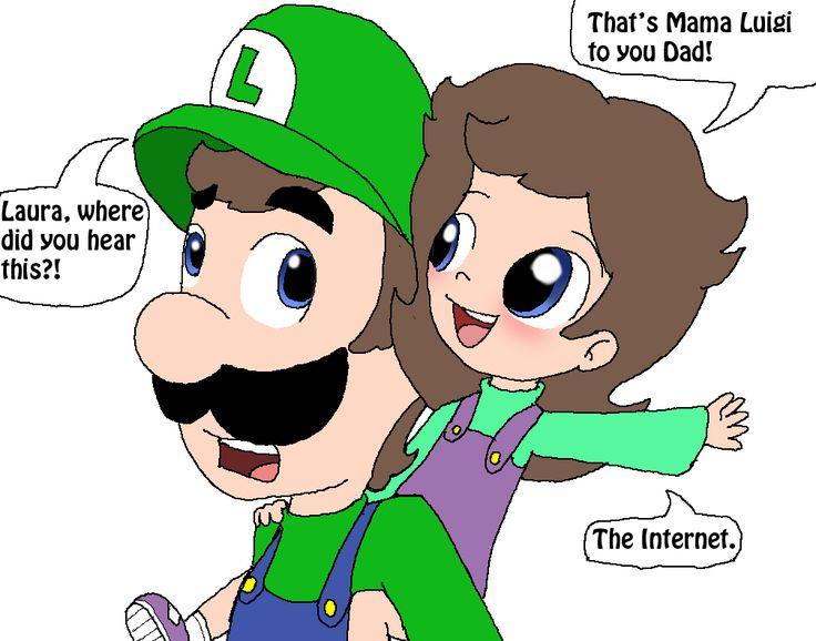 That's Mama Luigi to you Luigi! by Rotommowtom on DeviantArt