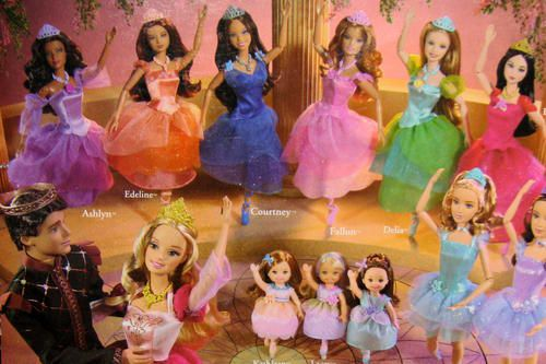 17 best images about my barbie collection on pinterest - Barbie 12 princesse ...