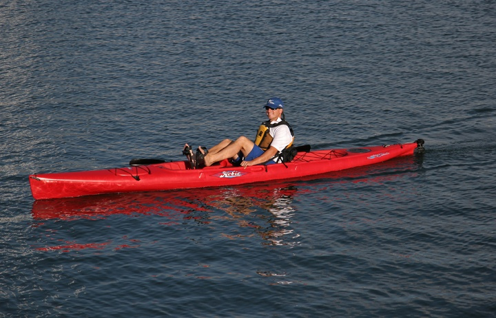 Hobie Kayak with pedals... so fun!!
