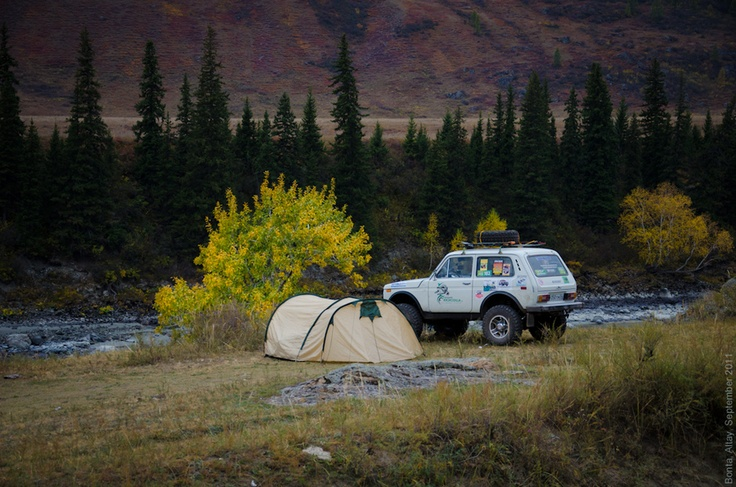 Wild camping (in Sweden)   Photo: Ilya Porvin