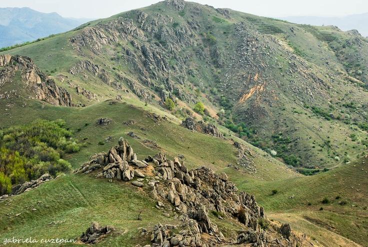 Macin Mountains from Dobruja, Romania