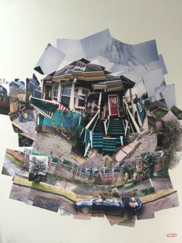 "Saatchi Art Artist Kyle MacDonald; Photography, """"1928 Grant"" Photo Joiner Collage mixed media by Kyle MacDonald"" #art"