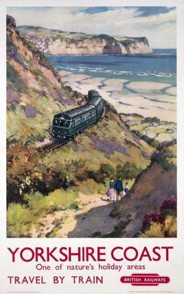 Vintage UK Railway Poster