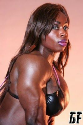 Dayana Cadeau professional female bodybuilder from Canada