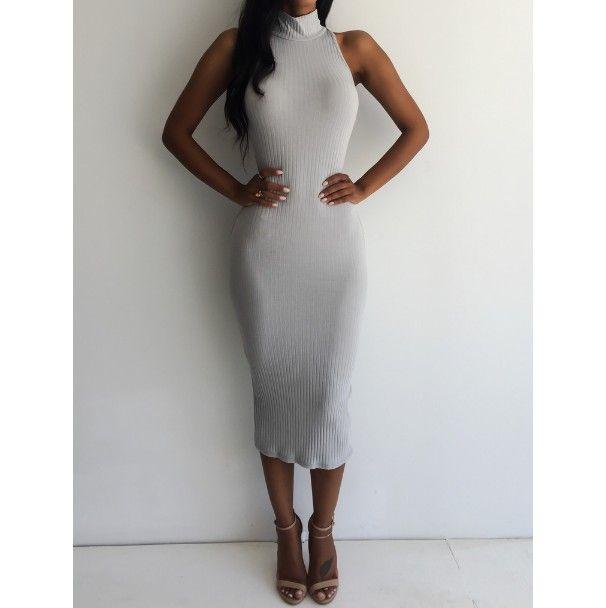 Dámské dlouhé šaty s vysokým límcem šedivé – dámské šaty + POŠTOVNÉ ZDARMA Na tento produkt se vztahuje nejen zajímavá sleva, ale také poštovné zdarma! Využij této výhodné nabídky a ušetři na poštovném, stejně jako …