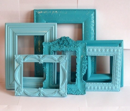 Shades of Turquoise & Aqua, perfect for my bedroom! home-decor