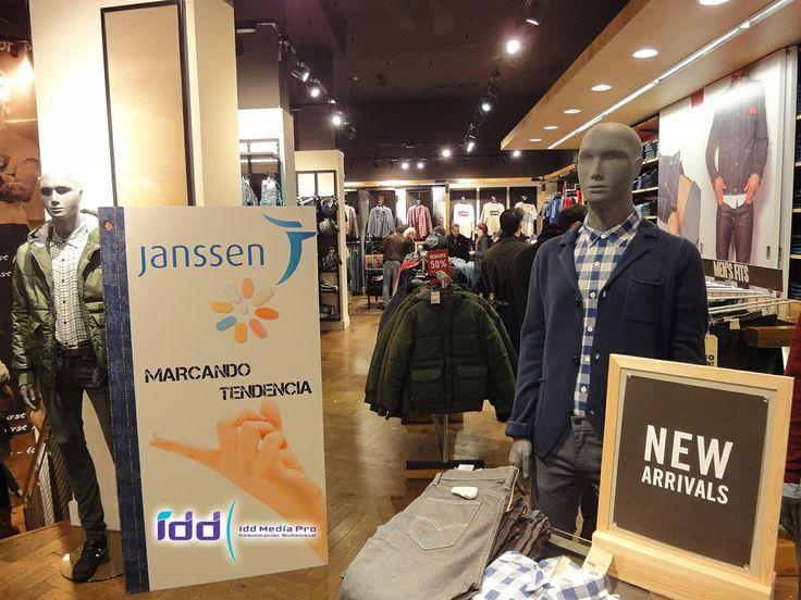 Acción en tienda de Levi´s Barcelona 2