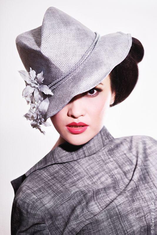 """Tokyo Jazz"" hat... Mademoiselle Slassi (Paris)."