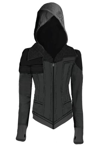 Ubi Workshop is proud and excited to pay tribute to such a character by creating the Assassin's Creed Syndicate – Evie Hoodie; dedicated it to all our Assassin's Creed women fans.