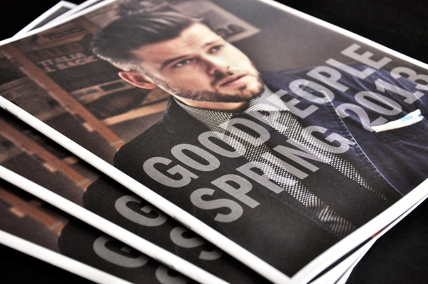 GoodPeople | Lookbook SS13 by Maarten Laan, via Behance