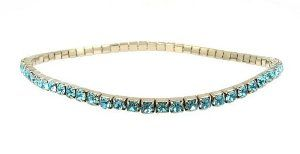 """Anklet - A2 - Swarovski (tm) Crystal - Stretch ~ Aqua Serenity Crystals, Inc.. Save 41 Off!. $12.95. Made with genuine Swarovski(tm) crystal stones. Measures 9"""". Easy to Wear... Perfect summer accessory... Super Sparkly!"""