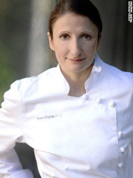 Anne-Sophie Pic comes from a long line of Michelin-starred chefs named World's Best Female Chef 2011