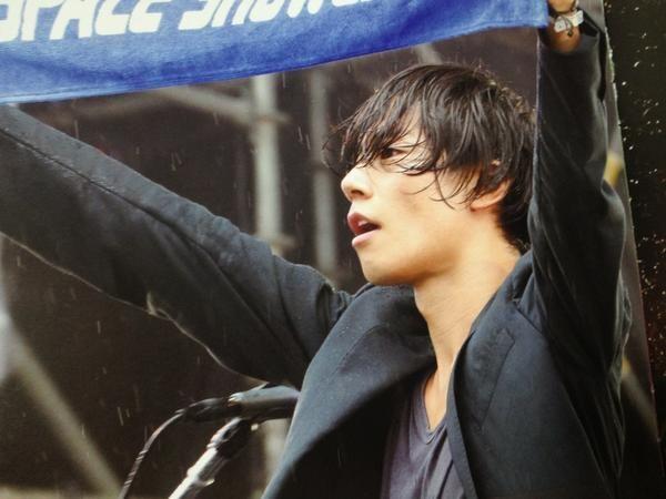 [Champagne]川上洋平2012/9/1「SPACE SHOWER SWEET LOVE SHOWER 2012」@山中湖交流プラザ きらら
