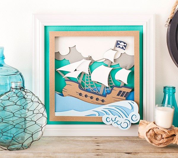 Do You Need Decoration For A Pirate Themed Room? This Dimensional Scene Is  The Perfect Addition. The Best Of Home Decor In U2013 Home Decor Ideas