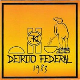 Detrito Federal - capa do LP de 1983.