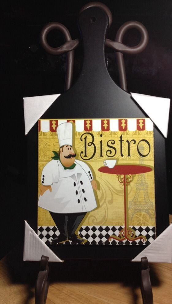 Fine Italian Chef Wall Decor Adornment   Wall Art Design .