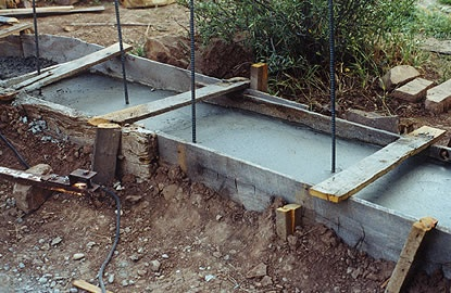 37 best images about building methods on pinterest adobe for Cost of poured concrete foundation walls