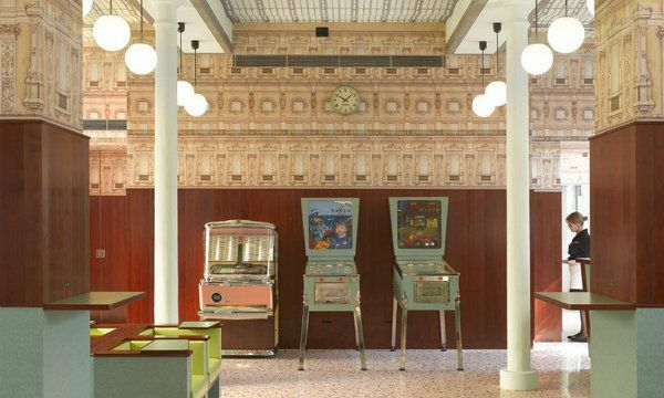 What to see in Milan Wes Anderson designed a Milan coffee shop (1)