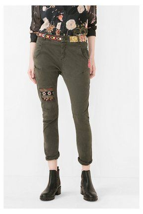 See all Desigual Trousers Exotic