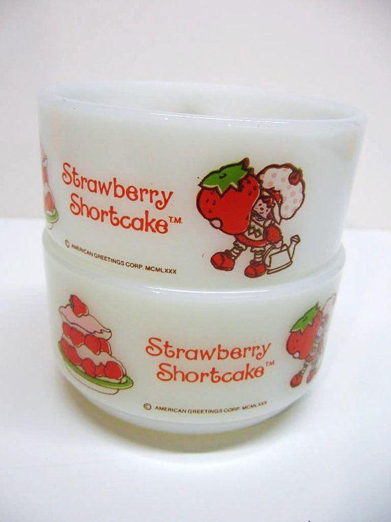 Strawberry Shortcake Bowls