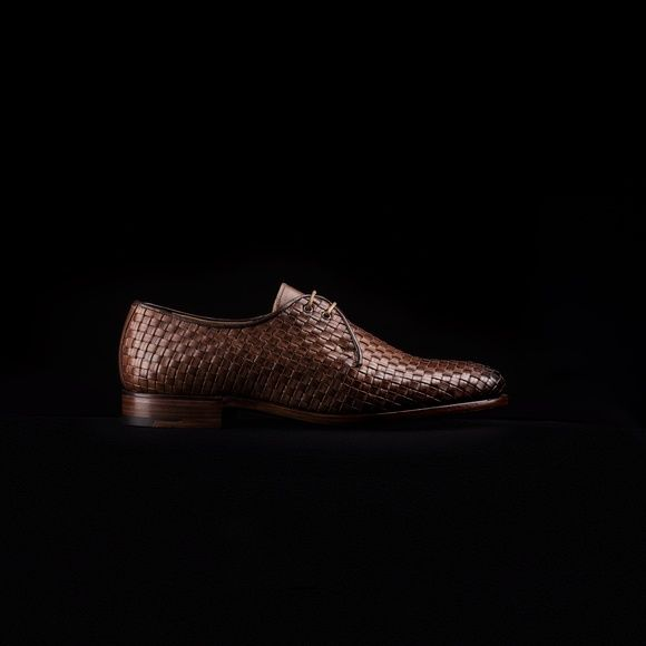 Shoe 7, 1970's. Shop here… http://www.grenson.com/uk/shoe-no-7-mens-derby-brown-woven-leather-leather-sole.html