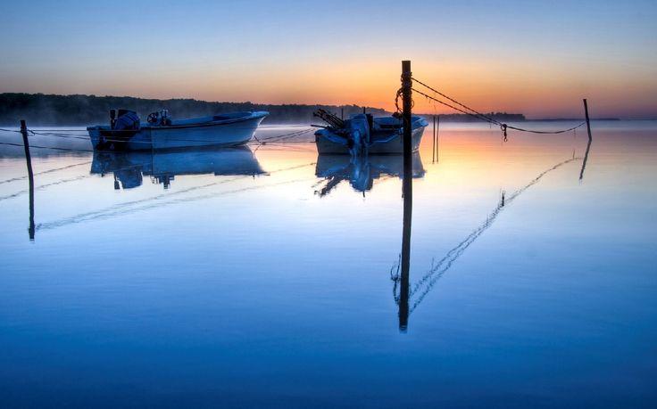A nap képe - Tükörsima
