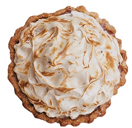 CLOUD NINE - Creme pie, butterscotch, custard with flaky crust @ http://emporiumpies.com/pies: Cloud