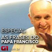 Especial: As frases de Francisco