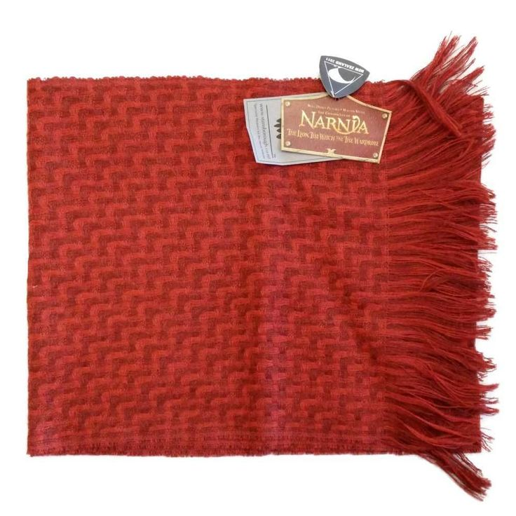 [Stansborough Licensed Narnia Lion the Witch and Wardrobe Centaur Scarf  #Stansborough] Again, I think this is more likely a replica of Tumnus the faun's scarf, not a centaur's. *g*