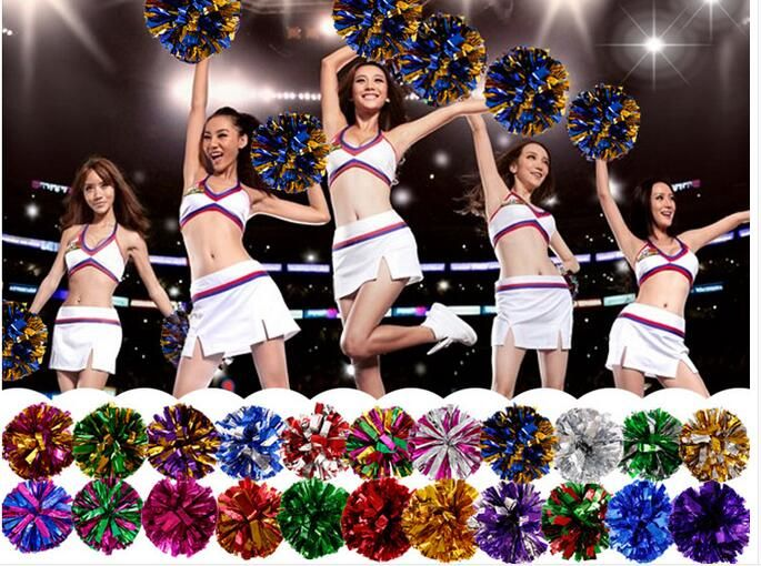 Free Shipping Rose All Star first single paragraph cheerleading pom pon Cheerleading cheer supplies#1832 - http://sportsgearmall.com/?product=free-shipping-rose-all-star-first-single-paragraph-cheerleading-pom-pon-cheerleading-cheer-supplies-1832