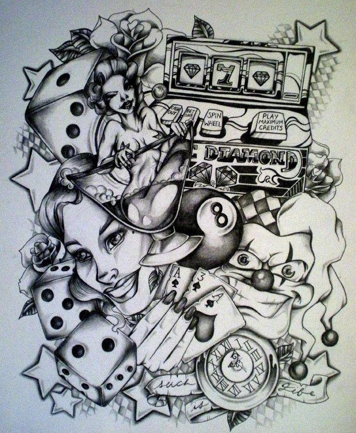 Картинка бардак как татуировка