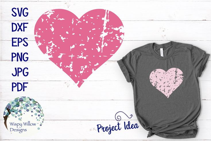 Distressed Grunge Heart Valentine Svg Arts Amp Crafts