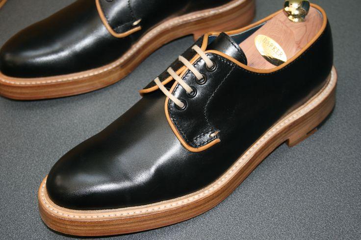 Barker Fenwick in Black/Cedar Calf http://www.robinsonsshoes.com/barker-fenwick.html