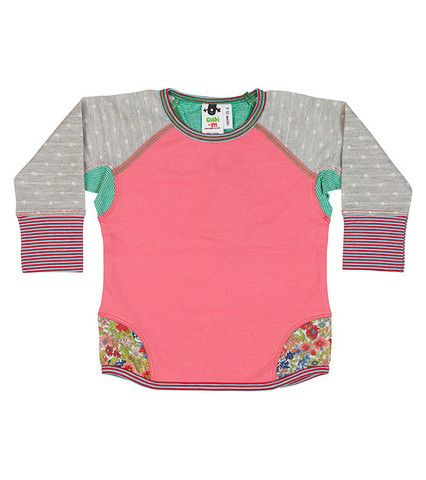Oishi-m: VIEW & SHOP our collection. Australian owned, Torquay Designed limited edition childrens clothing and kids and baby jeans online. As seen in Offspring | Oishi-m, Baby, Toddler, Kids, Children's Clothing, Girls, Lilu Crew Jumper