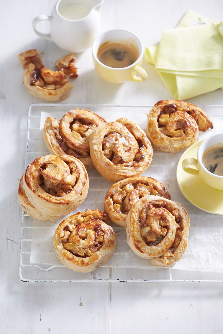 To make filling, melt butter in a large non-stick frying pan over a high heat. Add apple and cook for 8 minutes or until lightly browned and just tender. Stir in Equal Spoonful and cinnamon, then remove…