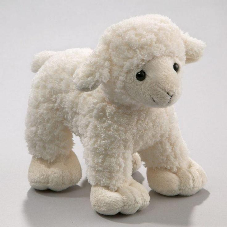 Sheep, Lamb White  Stuffed Animals  Pinterest  Crafts -9307