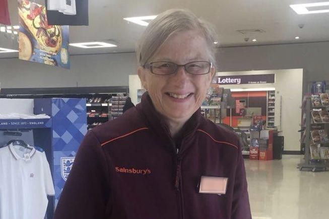 Son thanks Sainburys supermarket for employing his mother for five years despite Alzheimers diagnosis