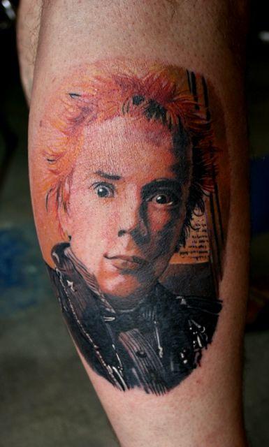 Johnny Rotten Tattoo