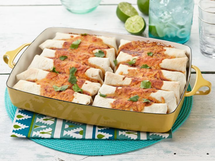 Beef and Bean Burritos Recipe : Ree Drummond : Food Network - FoodNetwork.com