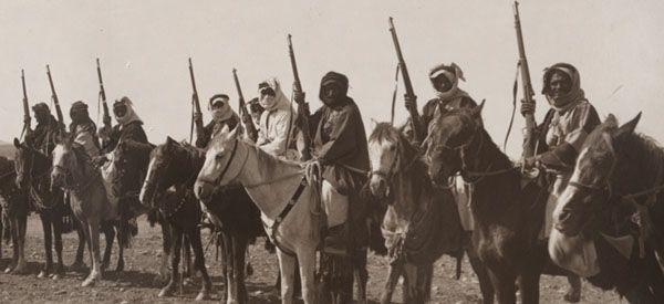 Tribes of Jordan and Arabia, c. 1918