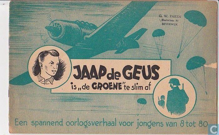 Jaap de Geus, door mijn vader geschreven in het oorlogsjaar 1944.
