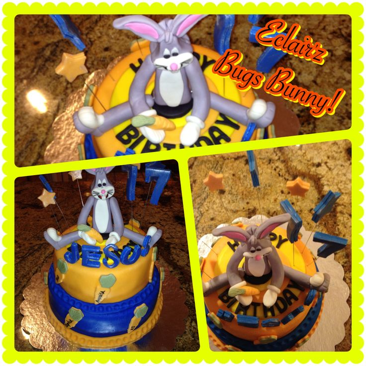 """""""What's Up Dock""""...Bugs Bunny Birthday Cake by Eclair'z..."""