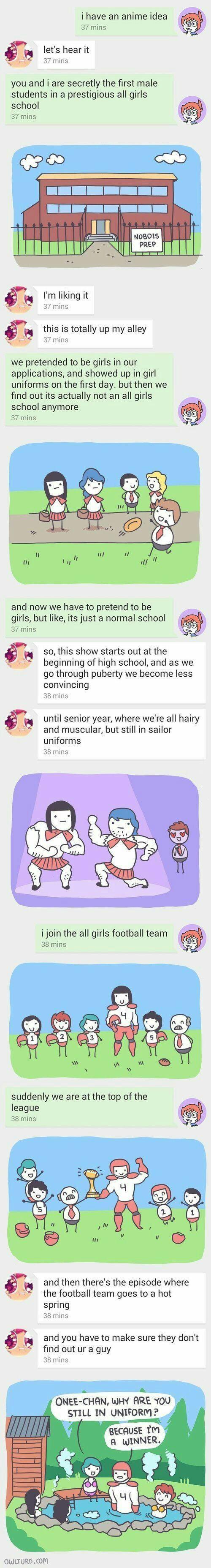 Anime idea