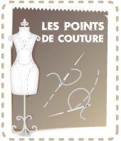 Points de couture main