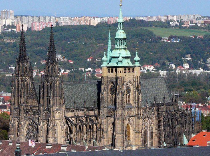Cattedrale di San Vito #Praga / seguici su www.cocoontravel.uk