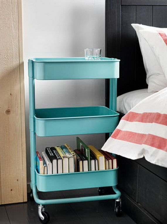 love. use as nightstand or art cart. New IKEA Collection 2013