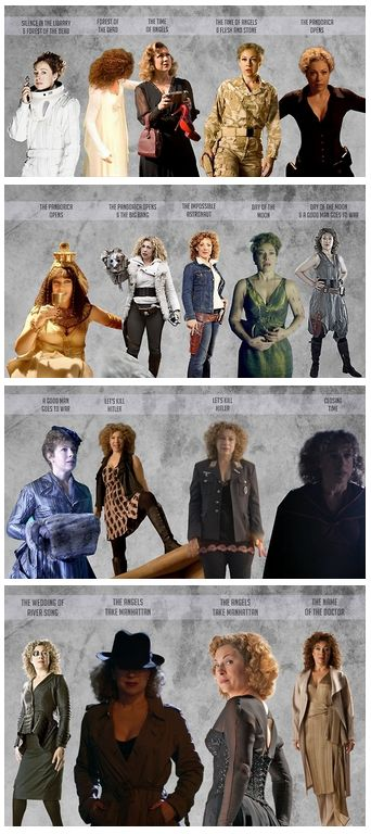 River Song from our perspective. Only in Doctor Who could you introduce a major character by killing her off.