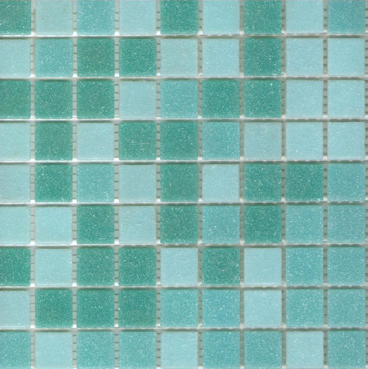 Brio Blend Surfside Blue Green Gl Mosaic Tile